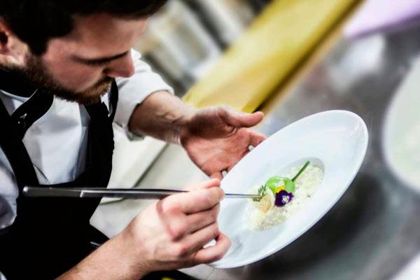 El chef Simone Valloni