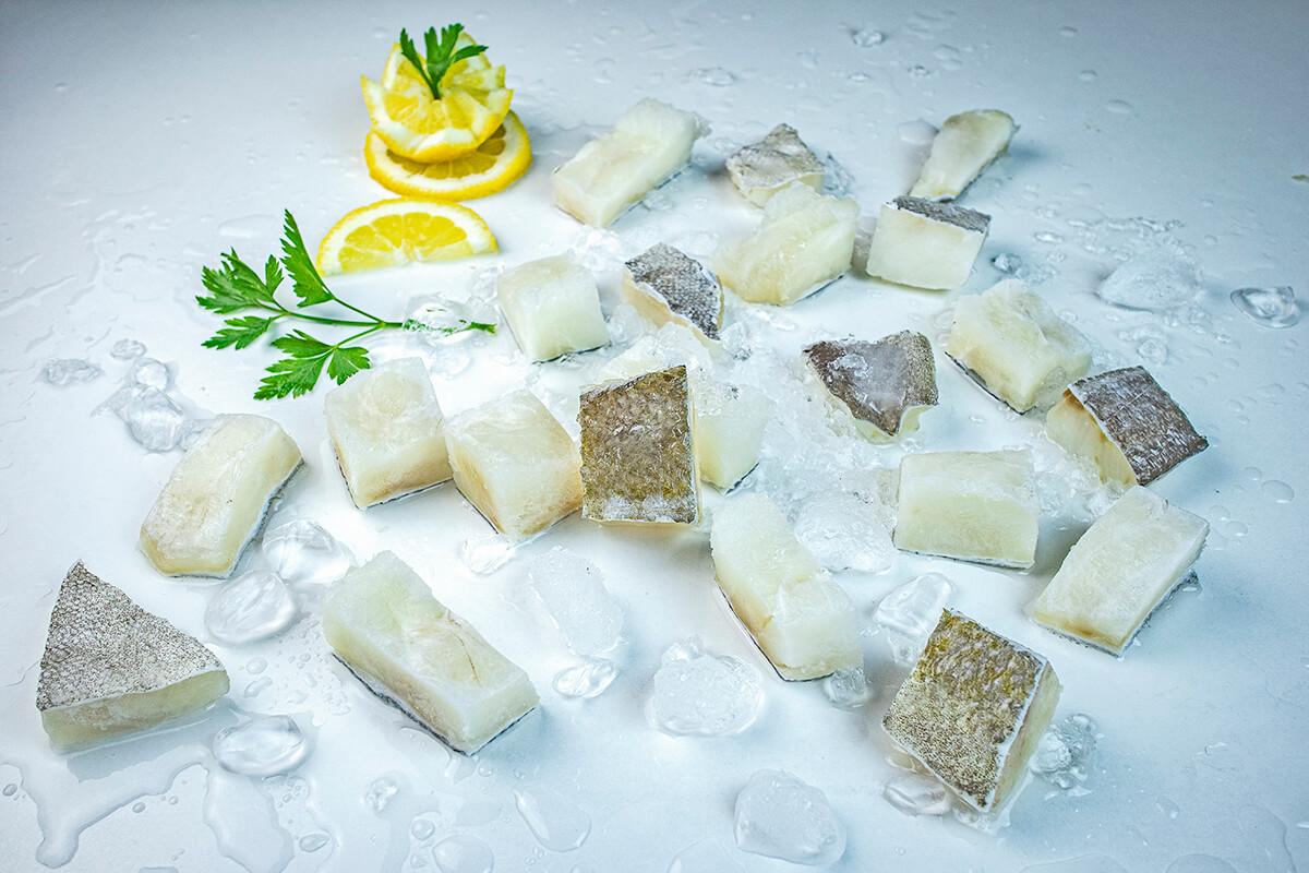 tacos de bacalao descongelado