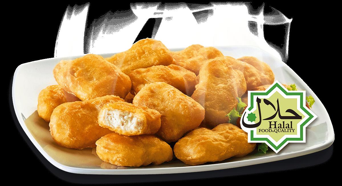 nuggets halal con pechuga certificada