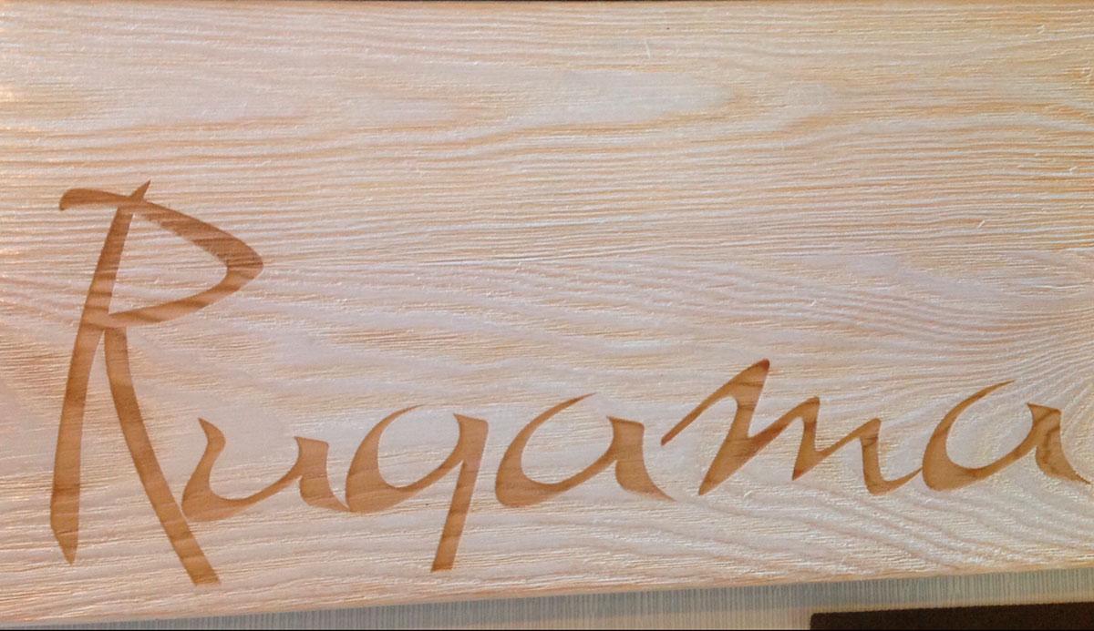 cartel Rugama restaurante brasería