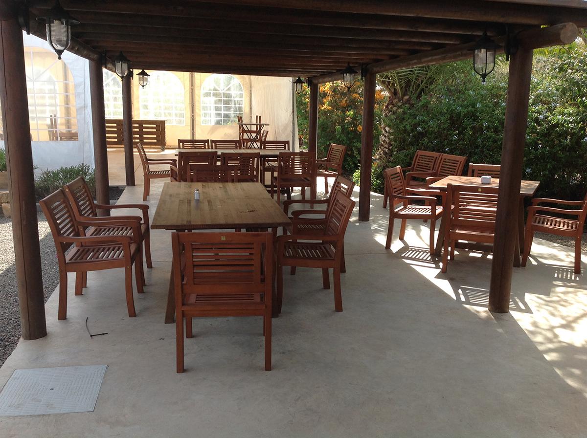 terraza restaurante Rugama