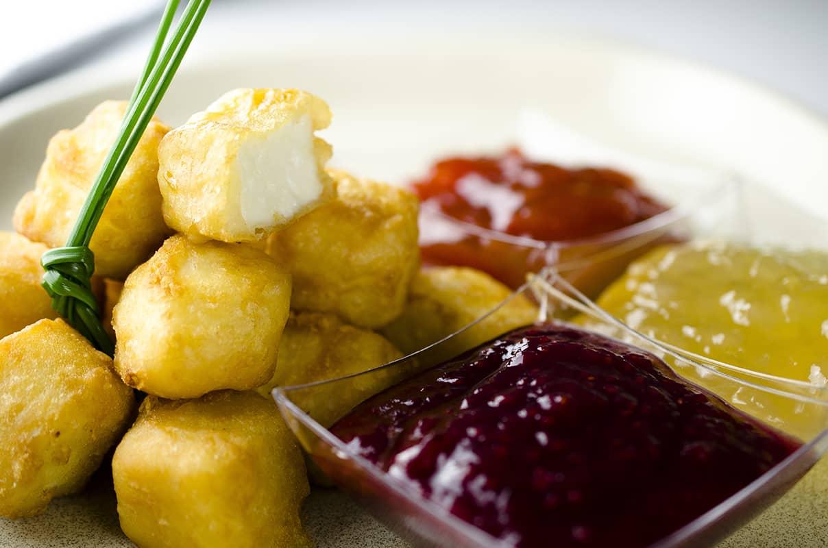 queso fresco en tempura
